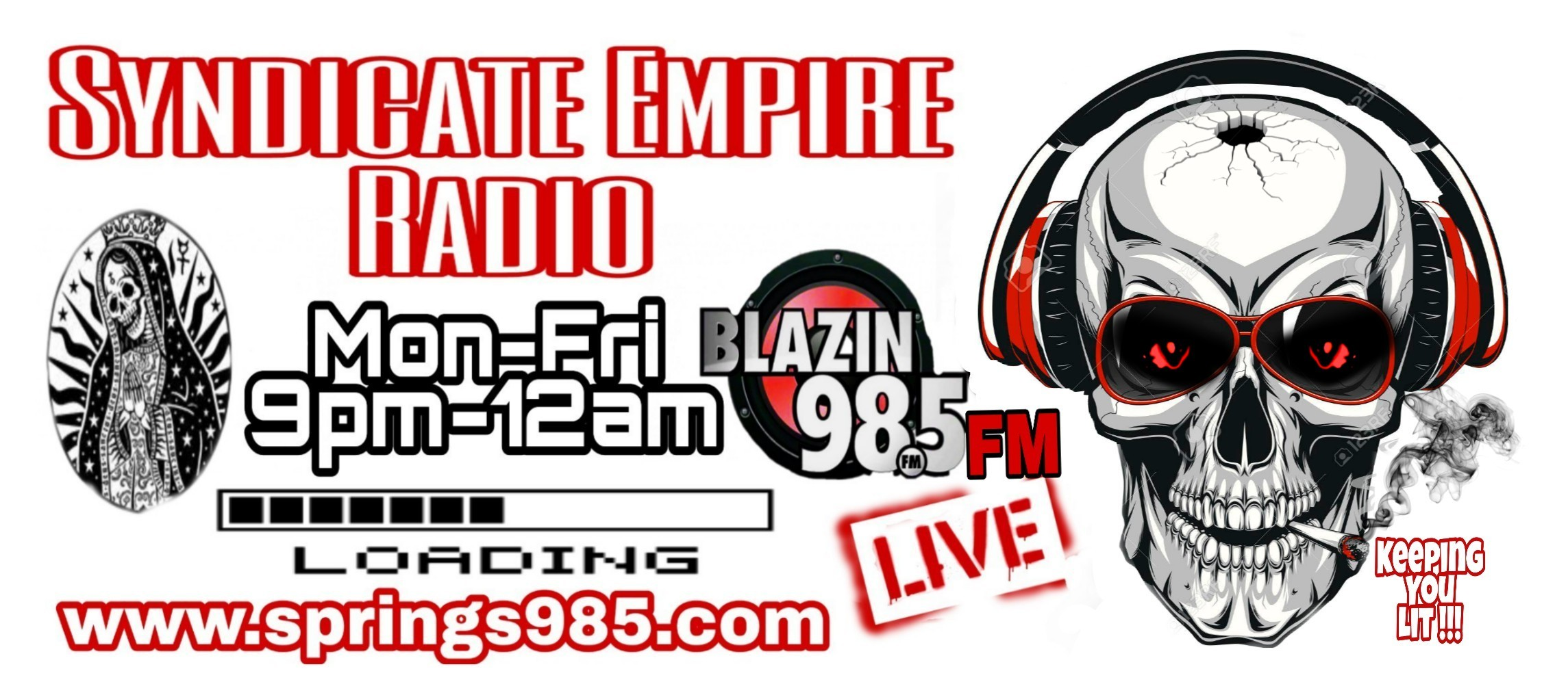 Syndicate Empire Radio Blazin 98.5